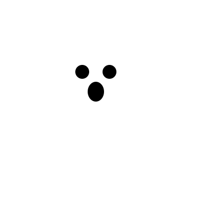 Scary ghost!